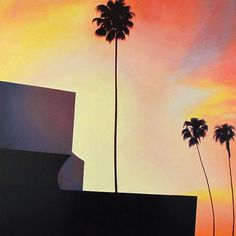 #instalite #losangeles: Paintings by Bradley Hankey