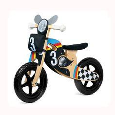 Kit moto pour premier vélo - Mon premier vélo devient une moto ! - 19,95 €