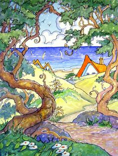 Tucked In By the Shore Storybook Cottage Series