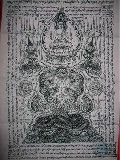 Sak Yant Drawings | Vers une interdiction des tatouages de Buddha en Thaïlande
