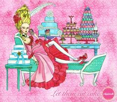 Camila Cerda Illustration: Let them eat cake
