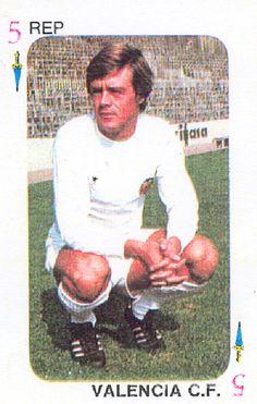 Valencia CF Johnny REP Cromos TELE-MOTOR Ediciones Este 1975
