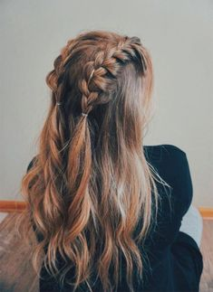 - 70 Super Easy DIY Hairstyle Ideas For Medium Length Hair Ecemella – … 70 Super Easy DIY Frisur Ideen für mittellanges Haar Ecemella – … Curly Hair Styles, Medium Hair Styles, Hairstyles For Medium Length Hair Easy, Girls Long Hair Styles, Pretty Hairstyles, Hairstyle Ideas, Ponytail Hairstyles, Easy Diy Hairstyles, Quick Braided Hairstyles