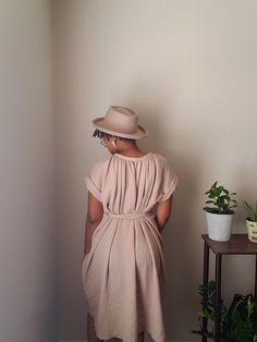 Cuff Sleeves, Pattern Paper, Poplin, Sewing Patterns, Short Sleeve Dresses, Summer Dresses, Clothes, Digital, Tops