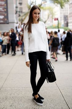 black and white outfits - Google Search