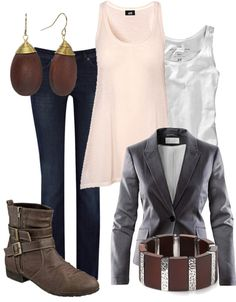 """out again"" by marijephotogirl on Polyvore"