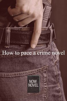 Find out how to pace a crime novel and avoid common crime writing pitfalls such as info dumps and bad story pacing.