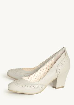 Heather Indie Pumps