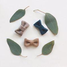 Image of m a c e tiny bow // headband + clip
