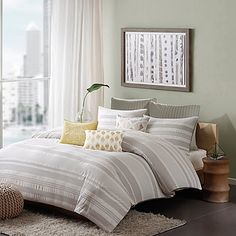 INK+IVY Lakeside Comforter Set