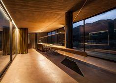 Tense Architecture Network design concrete home in a Greek olive grove