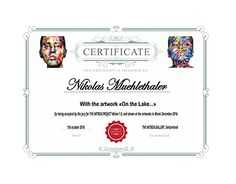 Certificate for a Photograph