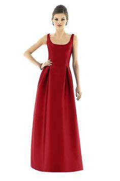 Cinderella inspiration Alfred Sung D567 Bridesmaid Dress | Weddington Way