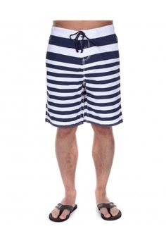 High Quality Men's Clothing from Officers Club Holiday Clothes, Holiday Outfits, Paula White, Mens Swim Shorts, Navy Stripes, New Look, Latest Trends, Boys, Summer