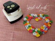 Spicchi del gusto: Cuoricino con bottoni