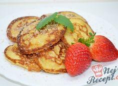 Nejlepší recepty na lívance | NejRecept.cz R80, Nutella, New Recipes, French Toast, Pancakes, Food And Drink, Breakfast, Author, Morning Coffee