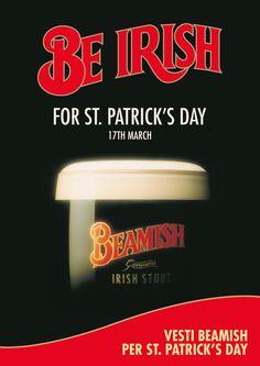 CLIENTE Beamish. Diventa irlandese per un giorno, con l'avvolgente corposità della birra Beamish #adv #pubblicità #comunicazione #birra