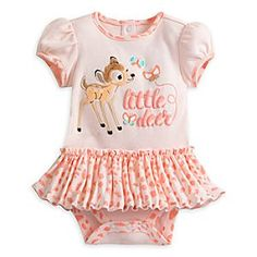 """Disney Store Bambi Cuddly Bodysuit With Skirt For Baby """"Little Deer"""" Adorable Disney Baby Clothes Girl, Baby Girl Skirts, Cute Baby Clothes, Baby Disney, Outfits Niños, Kids Outfits, Disney Outfits Girls, Toddler Outfits, Baby Boy Outfits"""