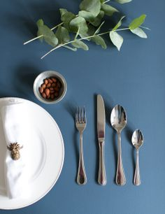 Silver 16 Piece Cutlery Set at Rose and Grey