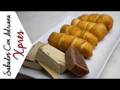 Palitos de queso - #SábadosConAdriana - YouTube Queso Mozzarella, Cornbread, Lemonade, Appetizers, Cooking Recipes, Ice Cream, Beef, Ethnic Recipes, Youtube