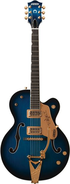 Blues!! - G6120 Chet Atkins Hollow Body by Gretsch® Electric Guitars ( would be especially kickin' with TV Jones Pickups)