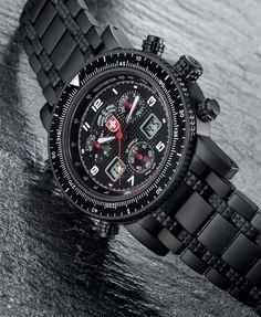 52f820a8c501 Diesel Watches Men s Rnd  Sq Texture Strap (Black Blue)