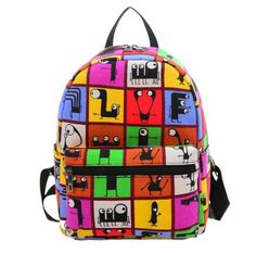 New Backpack Women High Quality canvas Mochila Escolar School Bags For Teenagers Girls lovely bag hot sale mochila feminina Shoulder Bags For School, School Bags For Girls, Girls Bags, Girl Backpacks, School Backpacks, Canvas Backpacks, Leather Backpacks, Rucksack Backpack, Travel Backpack