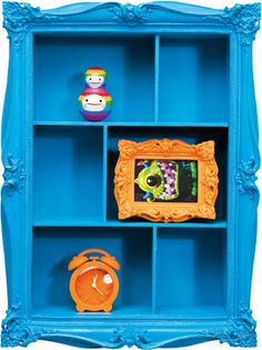Kare design ~ Wall Shelf Collector Barock Blue