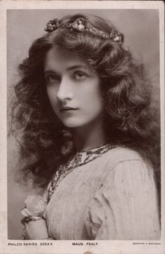 Silent Film Actress, Maude Fealy