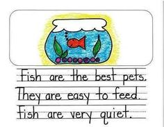 Kindergarten Opinion Writing Mentor Texts: What is the Best Pet?