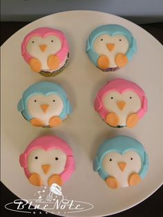 #penguin #cupcakes | Blue Note Bakery - Austin, Texas