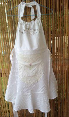 Bridal or hostess apron