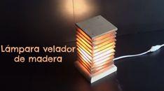 Cómo hacer una lámpara de madera paso a paso Lighting, Home Decor, Wooden Plaques, Art Tiles, Decoration Home, Room Decor, Lights, Home Interior Design, Lightning