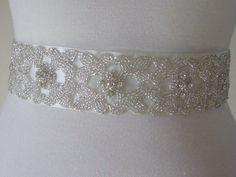 Bridal belt.
