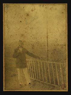 Arthur Rimbaud: of course a poet, traveler, adventurer, smuggler, he was also a photographer.