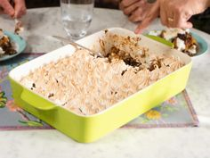 Get Chocolate and Butterscotch Bread Pudding Recipe from Food Network. (Chef used mix of sweet bread and regular bread cubes. Butterscotch Bread Pudding Recipe, Chocolate Bread Pudding, Butterscotch Chips, Chocolate Desserts, Baked In Vermont, Delicious Desserts, Dessert Recipes, Pumpkin Bread, Cinnamon Bread