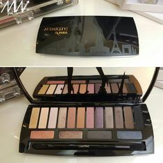 Lancôme auda[city] in Paris #lancome #audacity #eyeshadows