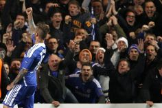Raul Meireles sends Chelsea FC to the Semifinals
