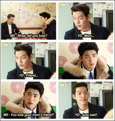 "KIM WOO BIN & PARK HYUNG SIK ♡ #Kdrama - ""HEIRS"" / ""THE INHERITORS"" .. hahahaha"