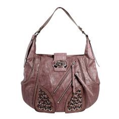 Guess VY252501/PIN Chic Hobo Hand Bag-Pink
