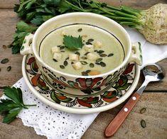 Juditka konyhája: TÖKMAGOS ZELLERKRÉMLEVES Tea Cups, Food And Drink, Tableware, Bedroom, Dinnerware, Tablewares, Dishes, Place Settings, Cup Of Tea