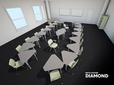 @Smith System Diamond Desk Configurations - Contact Sales@jennifernelson.com for product information and sales.