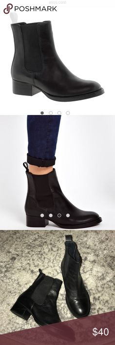 Asos adverse chelsea boots Genuine leather chelsea boots uk size 5, us size 7 (runs slightly small), good condition ASOS Shoes Ankle Boots & Booties