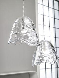 Lasvit's glass sculpture Frozen designed by Maxim Velčovský