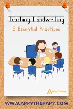 Teaching Handwriting: 5 Essential Practices shares five core principles for making handwriting instruction highly effective and engaging. Teaching Handwriting, Handwriting Activities, Improve Handwriting, Nice Handwriting, Handwriting Worksheets, Handwriting Practice, Preschool Writing, Preschool Printables, Classroom Organisation