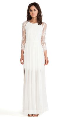 Alice by Temperley Long Hemingway Lace Back Dress