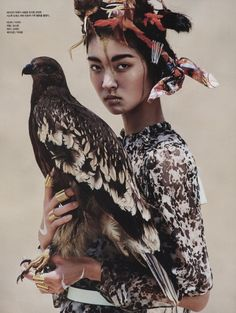Vogue Korea Editorial August 2014 - So Young Kang by Young Jun Kim
