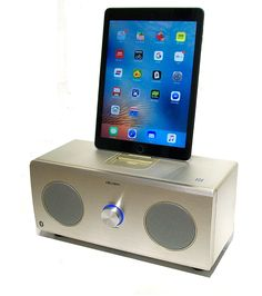 Bush Music Speaker Station-30 Watts- with Bluetooth & Dock for iPhones 5, 6, & 7, ALL iPods & ALL iPads: Amazon.co.uk: Hi-Fi & Speakers