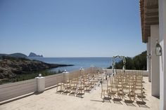 Beautiful beach front restaurant and wedding location situated on the quiet sandy beach of Cala Codolar on the stunning west coast of Ibiza, overlooking Es Vedra. Ibiza Wedding Venues, Wedding Locations, Destination Wedding, You Mean The World To Me, Wedding Abroad, Beautiful Beaches, West Coast, Spotlight, Island