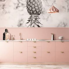 pineapple-marble-kitchen-contemporary-wall-murals-nature-pixers-we-live-to-chang delivers online tools that help you to stay in control of your personal information and protect your online privacy. Kitchen Furniture, Kitchen Interior, Interior Modern, Rustic Kitchen, Kitchen Decor, Kitchen Ideas, Diy Kitchen, Kitchen Hacks, Kitchen Inspiration